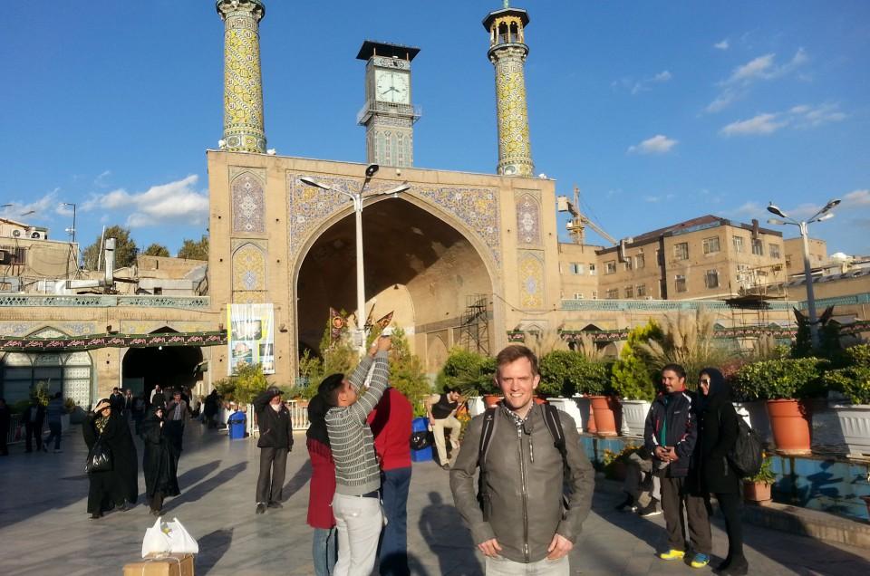 Jost in Teheran / Iran