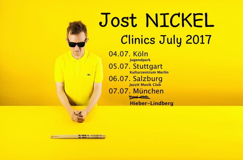 Clinic Tour im Juli